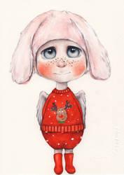 Christmas Angel 5 by oksanadimitrenko