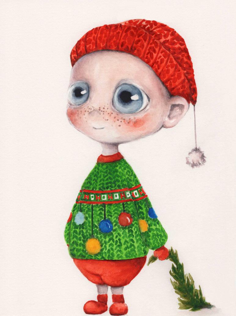 Christmas Angel_6 by oksanadimitrenko