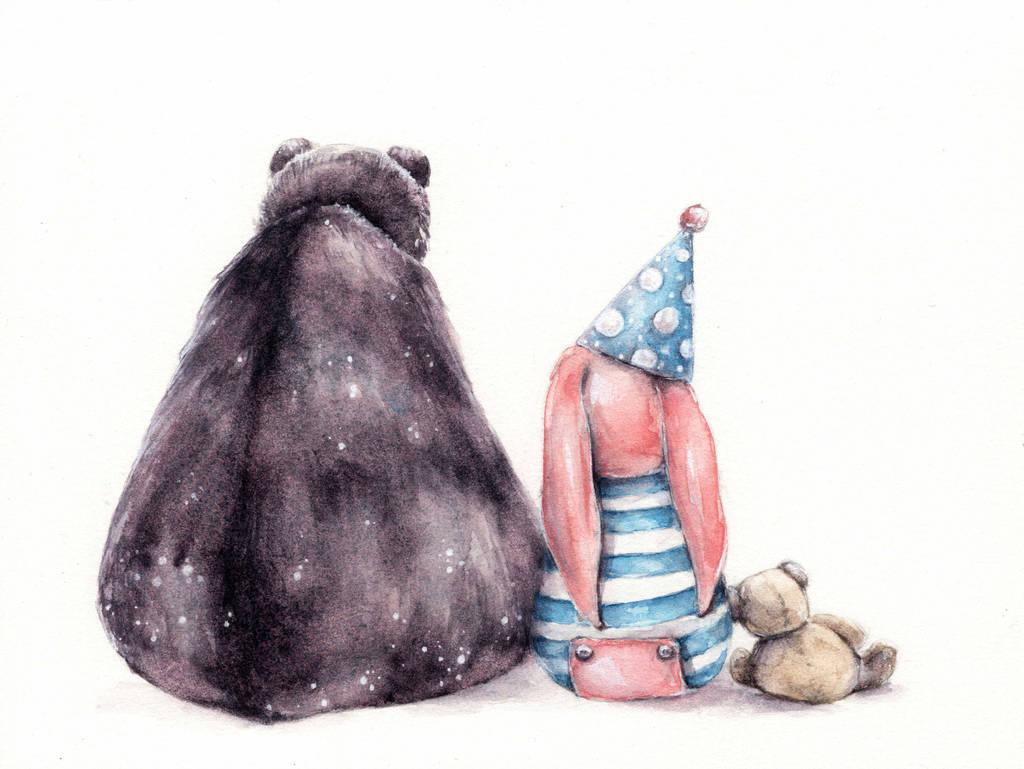 will you be my friend? by oksanadimitrenko
