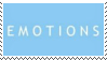 emotions aesthetic stamp by hematology