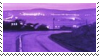 purple glow aesthetic stamp by hematology