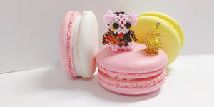 Mahou Shoujo Macaron Magica- The Dessert Witch by Suzingchips