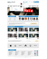 Clothes Shop layout by polska753