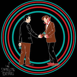 Wish You Were Here Doctor by SwanStarDesigns