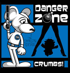 Danger Zone blue by SwanStarDesigns