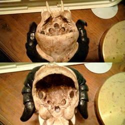 Deathclaw Skull 7 by Lisaurian