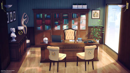 Office Background by ViridianMoon