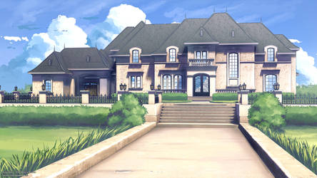 Mansion Background by ViridianMoon