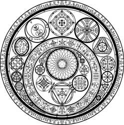 Summoning Circle by ViridianMoon