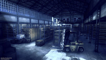 Warehouse Background by ViridianMoon