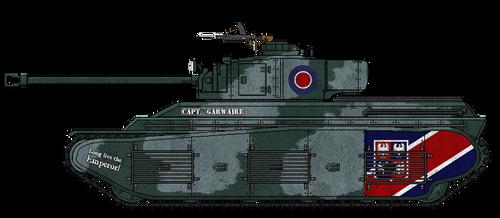 Fortnum M1 Heavy Tank by AdmiralSerenity