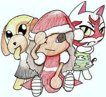 My Animal Crossing Christmas by Seliex
