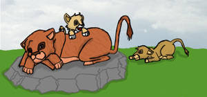 Cousins and I Lion King Style by Seliex