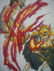 Fight Fire with Fire!  by 2Evan
