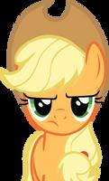 Applejack is not amused by GameMasterLuna