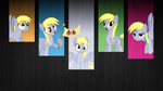 Derpy Wallpaper (Minimalist version) [1920x1080] by GameMasterLuna
