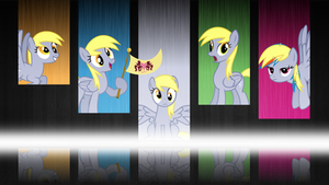 Derpy Wallpaper (Advanced version) [1920x1080] by GameMasterLuna