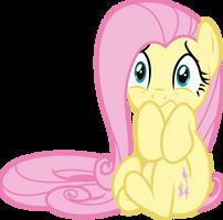 Scared Fluttershy by GameMasterLuna