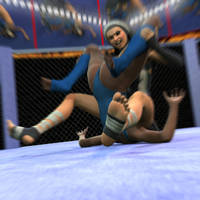 Fight! - Brooklyn vs The Sisters - 18 by CrazyStupot