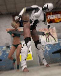 Fight! - Monika's Open Challenge - 72 by CrazyStupot