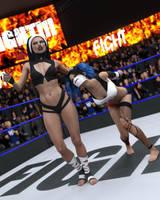 fight! - Kennedey vs Delaney - 64 by CrazyStupot