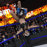 fight! - Kennedey vs Delaney - 72 by CrazyStupot