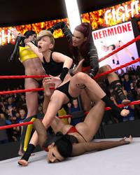 FIGHT!! - Hermione Vs Aliana - 26 by CrazyStupot