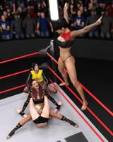 FIGHT!! - Hermione Vs Aliana - 35 by CrazyStupot