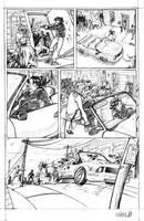 Zombie Car Chase by Shazzbaa