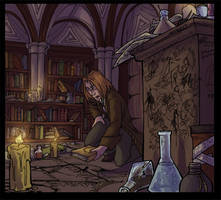 Concept: Quentin's Study by Shazzbaa
