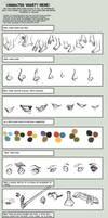 Character Variety Meme - Runewriters by Shazzbaa