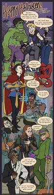 Runewriters: HAPPY HALLOWEEN!! by Shazzbaa