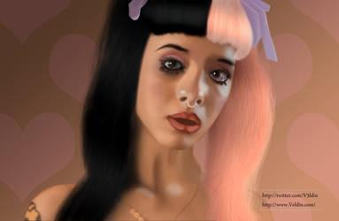 Painting: Melanie Martinez - Pacify Her by V3ldin