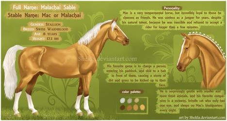 Malachai - ref commision by Shekla
