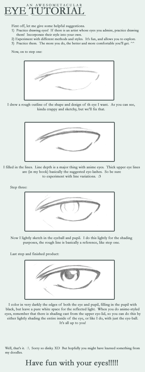 Anime Eye Tutorial by Sunfur