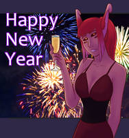 Cheers to 2018 by Agent-Cheshire
