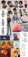 Art dump 5 by Agent-Cheshire