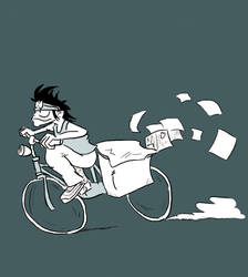 PaperBoy by Ulaire-Martinya