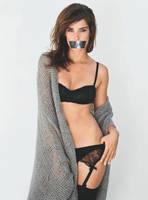 Cobie Smulders Gagged by N099ER