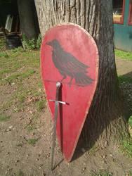 Kite shield by BloodRedFullMoon