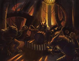 Charr Metal by BloodRedFullMoon