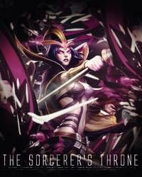 The Sorcerer's Throne by VonDeLua