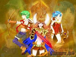 The Defenders by eizu
