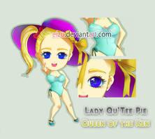 Commission: Lady Qu'Tee by eizu