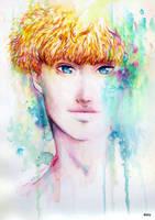 Remember - Original Watercolor Painting by eizu