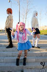 Angel Beats! - Day game by YumiAznable