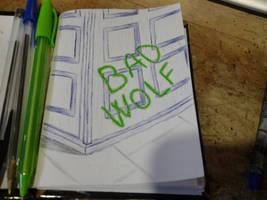 Bad Wolf by dragaodepapel