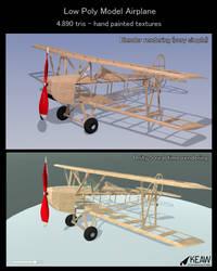 Fly Baby model airplane 3D by dragaodepapel