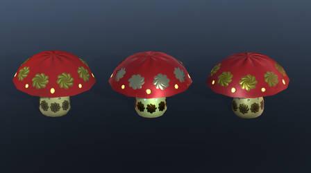 Ceramic Mushroom by dragaodepapel
