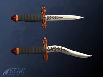 Daggers by dragaodepapel